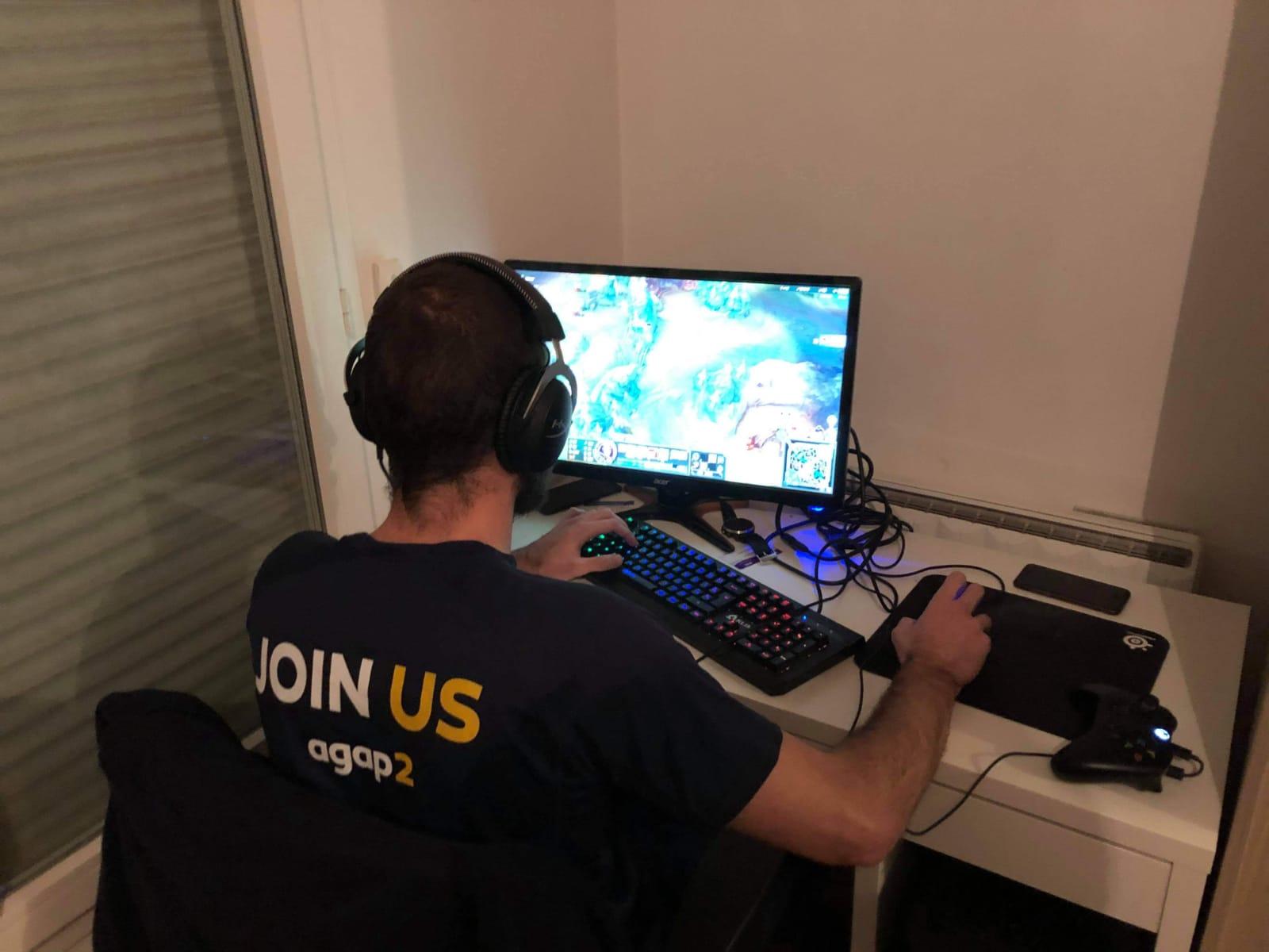 tournoi e-sport agap2